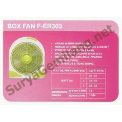 "Box Fan Panasonic 12"" ER303"