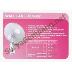 """Wall Fan Panasonic 16"""" F-EU4007"""