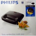 Sandwich Toaster Philips HD2393 Hitam Jepit Asli, Baru, Garansi Resmi