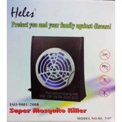 Mosquito Killer Heles HL3107 Asli, Baru, Garansi Resmi