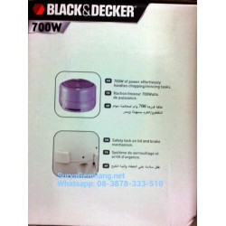 Mincer Chopper Black & Decker Asli, Baru, Garansi Resmi Limited Stock
