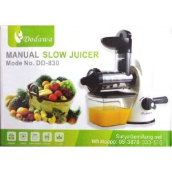 Slow Juicer Manual Dodawa Asli dan Baru