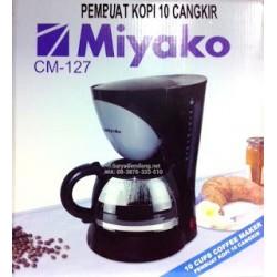 Coffee Maker Miyako CM127 Keep Warm 10 Cup Asli, Baru, Garansi Resmi