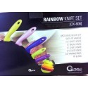 Pisau Set Oxone OX606 Rainbow Knife Unik Warna-Warni Asli dan Baru
