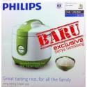 Philips 3D Rice Cooker 3in1 HD3118 Hijau Asli, Baru, Garansi Resmi