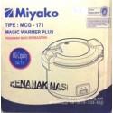 Rice Cooker Besar Miyako MCG171 Teflon, Asli, Baru, Garansi Resmi