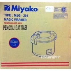 Magic Jar Miyako MJG201 Besar Penghangat Nasi Asli, Baru,Garansi Resmi