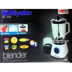 Blender Miyako Baru BL-51GI Gelas Besar 3in1 Asli, Baru, Garansi Resmi