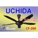 Ceiling Fan Uchida Remote CF260 Asli, Baru, Garansi Resmi