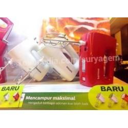 Philips Hand Mixer TERBARU HR1552 Warna Hijau, Merah, Abu Asli,Baru, Garansi Resmi