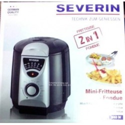 Severin Deep Fryer 2in1 Fondue FR2408 German Quality Asli,Baru,Garansi