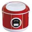 Rice Cooker Sanken SJ200 Stainless Merah Asli, Baru, Garansi Resmi