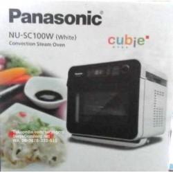 Panasonic Cubie NUSC100 Steam Oven Air Fryer Asli, Baru, Garansi Resmi