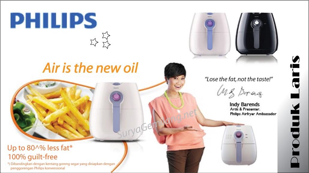 Philips Air fryer spesial asli